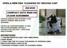 GM-MINI COMPACT RIDE ON AUTO RIDE-ON FLOOR SCRUBBER Auto Scrubber  Floor Cleaning / Maintenance