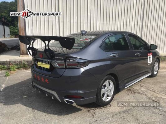 Honda city 2014 AE gt wing.