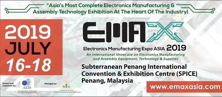 Electronics Manufacturing Expo  (EMAX) Asia 2019 July 2019
