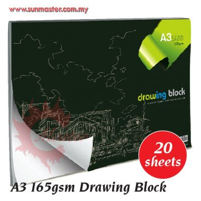 A3 165gsm Drawing Block ͼ»­±¾