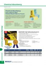 Chemical Absorbency