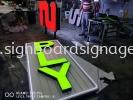 2 PLY Market 3D Channel LED Lettering Signboard in Meru Klang CHANNEL LED 3D SIGNAGE