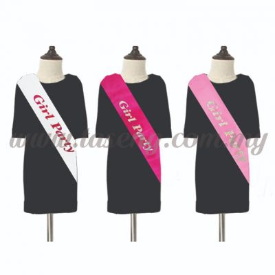 Girl Party Sash (P-AC-SA12)