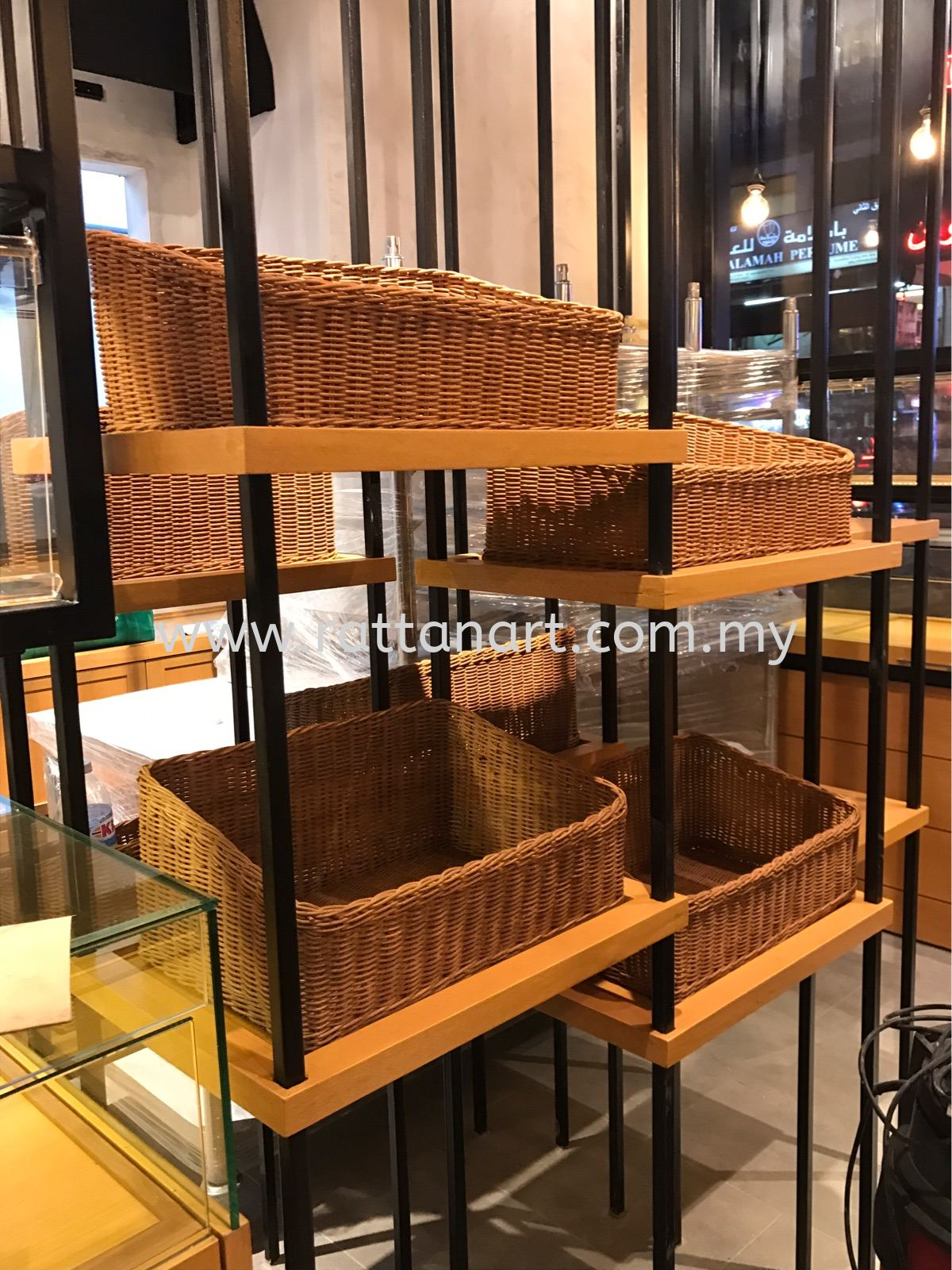 RATTAN ART SUPPLY TO HOGAN BAKERY LION TOWER @ BUKIT BINTANG