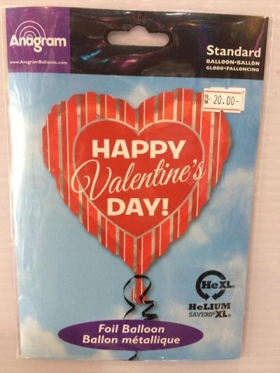 18 Inch Anagram Valentine's Day Foil Balloon