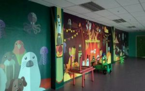 Wall wrapping