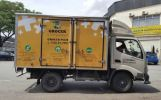 Grocer Plus Lorry Advertising Vehicle Advertising