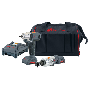 12v Cordless Impact Wrench and Ratchet Combo Kit