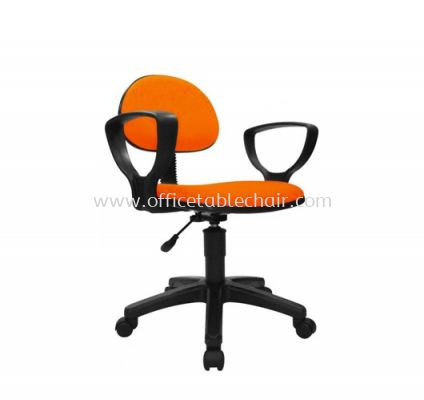 TY7 TYPIST CHAIR C/W ARMREST AND POLYPROPYLENE BASE