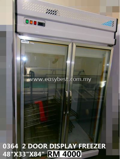 (CODE:0364) 2 DOOR DISPLAY FREEZER