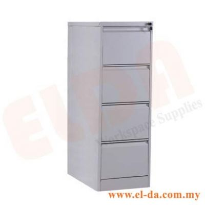 4 Drawer Filing Cabinet (ELDAFC4D)