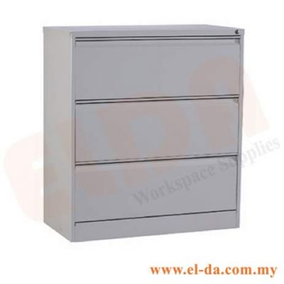 3 Drawer Lateral Filing Cabinet (ELDALF3D)