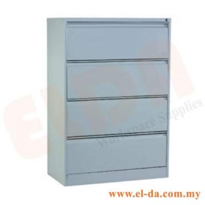 4 Drawer Lateral Filing Cabinet (ELDALF4D)