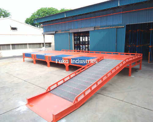 Mobile Steel Ramp / Yard Ramp / Container Ramp