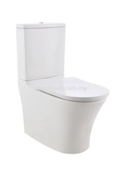 Vicenza BTW Close Coupled (Rimless) WC