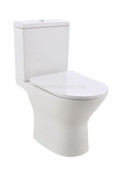 Treviso Close Coupled (Rimless) WC