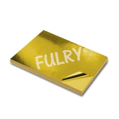 InkJet PVC Foil Gold A4 Size