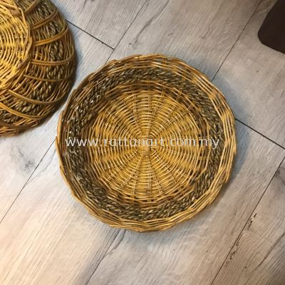 RATTAN WICKER TRAY C