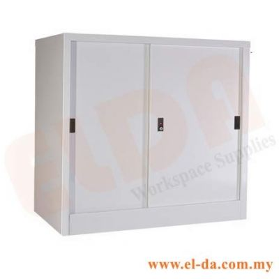 Half-Height Sliding Door Steel Cabinet (ELDAFH1-SD)