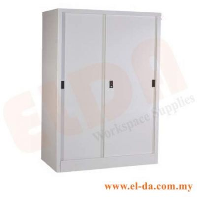 Medium-Height Sliding Door Steel Cabinet (ELDAFH2-SD)