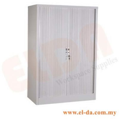 Medium-Height Steel Cabinet With Foldable Door (ELDAFH2-FD)