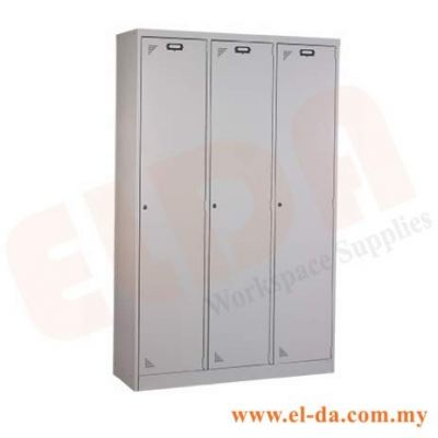 3 Compartment Steel Locker & Hostel Cupboard (ELDAHC3)