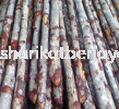 "Kayu Bakau 2 1/2"" up Foundation Pilling Building Material"