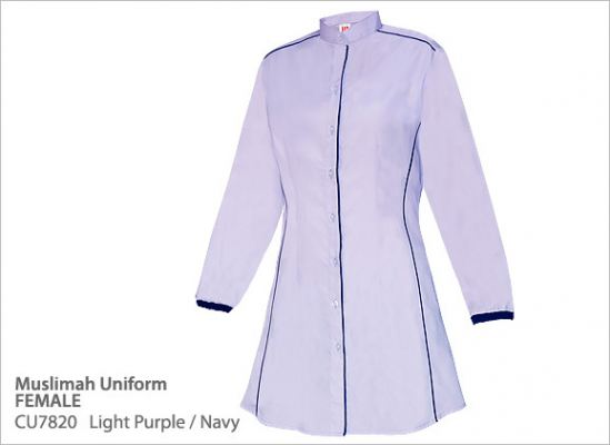 CU7820 Light Purple/Navy