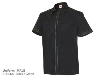 CU0666 Black/Green