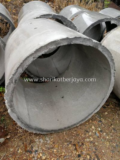 "(B) CONCRETE SEPTIC TANK WITHOUT BASE 2' 10"" (D) X 3' (L)"