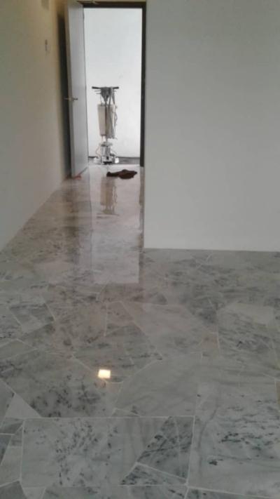 repolish marble..