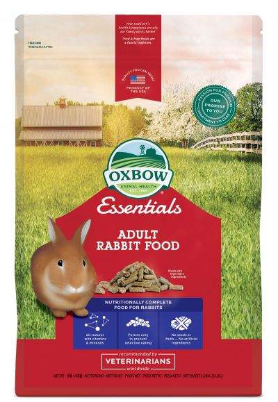 Oxbow Adult Rabbit Food (5lb)