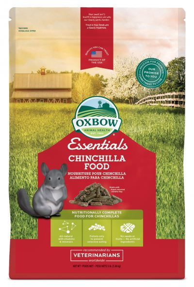 Oxbow Chinchilla Food (3lb)