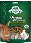 Oxbow Organic Barley Biscuits (75g) Treats & Supplements Oxbow Animal Health