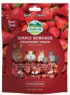 Oxbow Simple Rewards Strawberry Treats (0.5oz) Treats & Supplements Rabbit Product