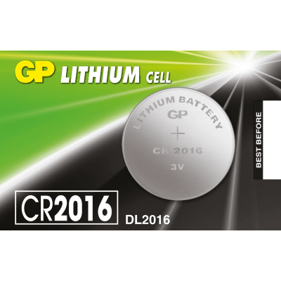 GP LITHIUM COINS CELLS BATTERIES , 3V CR2016-7C5