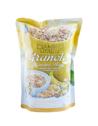 Diamond Grains Granola Banana Flavour