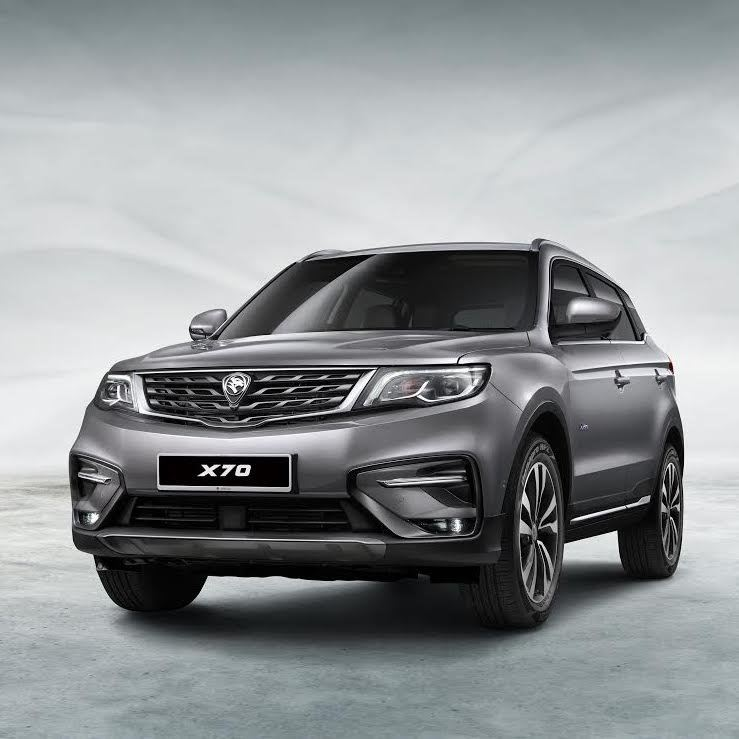 PROTON PREVIEWS ITS SUV X70 M'sia News