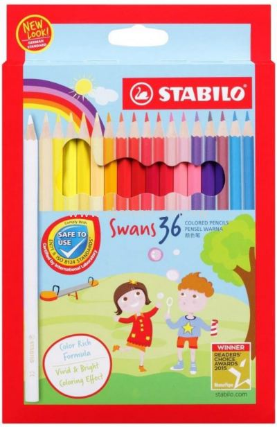 STABILO SWANS COLOR PENCILS 36's