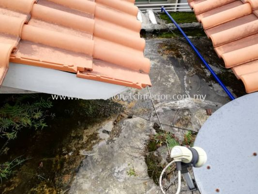 Waterproof work on the roof