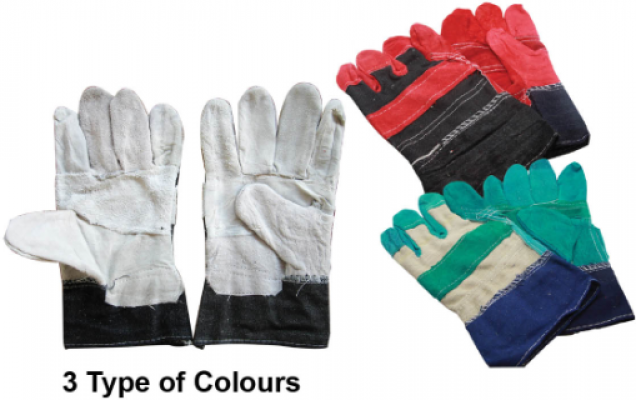 Semi Leather Gloves