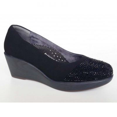 SM107-6 Black Saramax Women Shoe