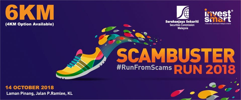 Scambuster Run 2018 October 2018 Year 2018 Past Listing