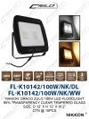 FL-K10142/100W/NK/DL/WW DOWN LIGHT LED LIGHTING