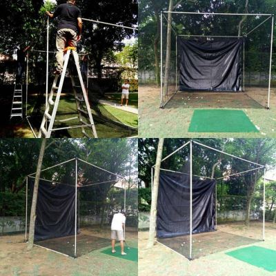 Portable light weight Golf Frame and Net Easy To Install and Dismantle