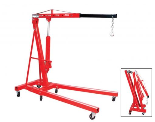 2 TON FOLDING ENGINE CRANE (SHOP CRANE)