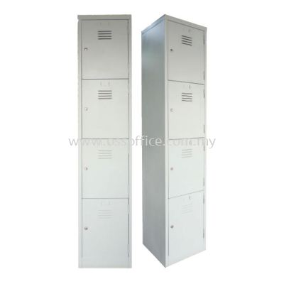 S114/B  - 4 Compartments Steel Locker