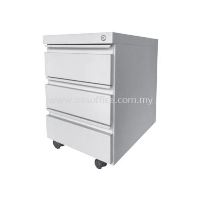 S181 Steel Mobile Pedestal with Ball Bearing Slide 3 Drawers
