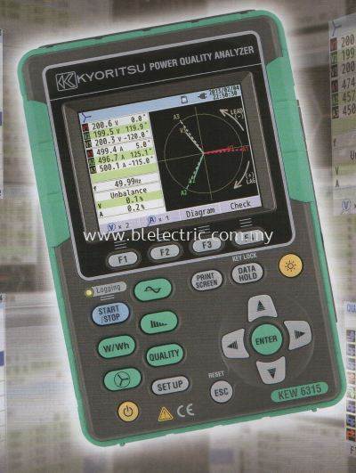 Kyoritsu Power Quality Analyzer 1
