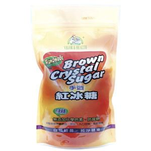 Brown Crystal Sugar (Handmade) 手造紅冰糖 ( 600gm/pkt )